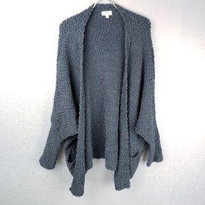 Umgee Nubby Open Cardigan Size Large